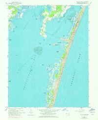 Download a high-resolution, GPS-compatible USGS topo map for Tingles Island, MD (1972 edition)