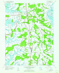 Download a high-resolution, GPS-compatible USGS topo map for Trappe, MD (1962 edition)