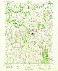 Download a high-resolution, GPS-compatible USGS topo map for Union Bridge, MD (1966 edition)