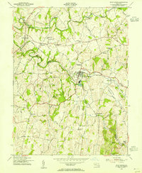 Download a high-resolution, GPS-compatible USGS topo map for Union Bridge, MD (1955 edition)