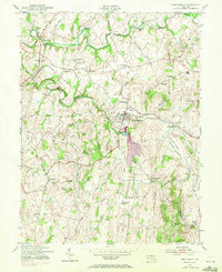 Download a high-resolution, GPS-compatible USGS topo map for Union Bridge, MD (1972 edition)