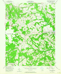 Download a high-resolution, GPS-compatible USGS topo map for Upper Marlboro, MD (1964 edition)