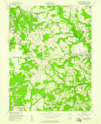 Download a high-resolution, GPS-compatible USGS topo map for Upper Marlboro, MD (1958 edition)