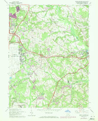 Download a high-resolution, GPS-compatible USGS topo map for Upper Marlboro, MD (1971 edition)