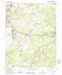 Download a high-resolution, GPS-compatible USGS topo map for Upper Marlboro, MD (1989 edition)