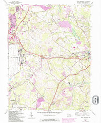 Download a high-resolution, GPS-compatible USGS topo map for Upper Marlboro, MD (1993 edition)