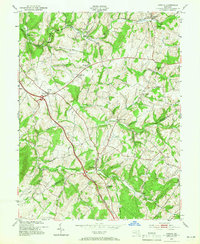 Download a high-resolution, GPS-compatible USGS topo map for Urbana, MD (1966 edition)