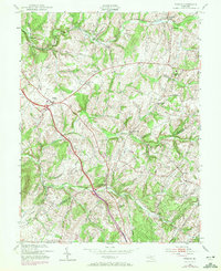Download a high-resolution, GPS-compatible USGS topo map for Urbana, MD (1972 edition)