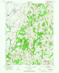 Download a high-resolution, GPS-compatible USGS topo map for Walkersville, MD (1966 edition)