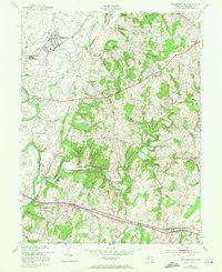 Download a high-resolution, GPS-compatible USGS topo map for Walkersville, MD (1971 edition)