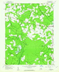 Download a high-resolution, GPS-compatible USGS topo map for Wango, MD (1962 edition)