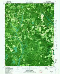 Download a high-resolution, GPS-compatible USGS topo map for Wango, MD (1983 edition)