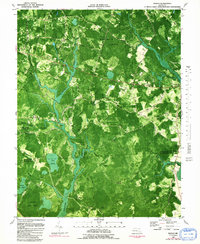 Download a high-resolution, GPS-compatible USGS topo map for Wango, MD (1991 edition)
