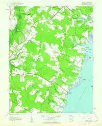 Download a high-resolution, GPS-compatible USGS topo map for Wesley, MD (1962 edition)