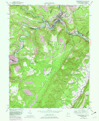 Download a high-resolution, GPS-compatible USGS topo map for Westernport, MD (1982 edition)