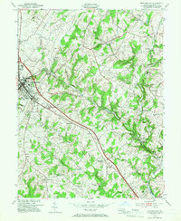Download a high-resolution, GPS-compatible USGS topo map for Westminster, MD (1966 edition)