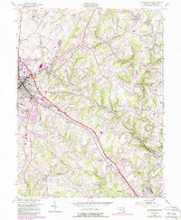 Download a high-resolution, GPS-compatible USGS topo map for Westminster, MD (1988 edition)