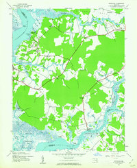 Download a high-resolution, GPS-compatible USGS topo map for Wetipquin, MD (1962 edition)