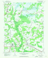 Download a high-resolution, GPS-compatible USGS topo map for Whaleysville, MD (1971 edition)