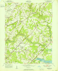 Download a high-resolution, GPS-compatible USGS topo map for White Marsh, MD (1951 edition)
