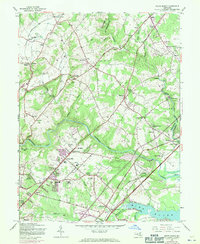 Download a high-resolution, GPS-compatible USGS topo map for White Marsh, MD (1971 edition)