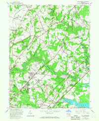Download a high-resolution, GPS-compatible USGS topo map for White Marsh, MD (1967 edition)