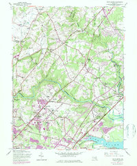 Download a high-resolution, GPS-compatible USGS topo map for White Marsh, MD (1984 edition)