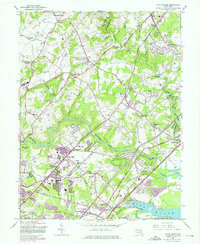 Download a high-resolution, GPS-compatible USGS topo map for White Marsh, MD (1975 edition)