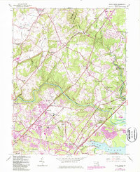 Download a high-resolution, GPS-compatible USGS topo map for White Marsh, MD (1987 edition)