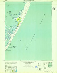 Download a high-resolution, GPS-compatible USGS topo map for Whittington Point, MD (1953 edition)
