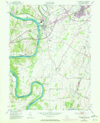 Download a high-resolution, GPS-compatible USGS topo map for Williamsport, MD (1972 edition)