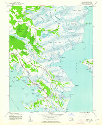 Download a high-resolution, GPS-compatible USGS topo map for Wingate, MD (1962 edition)