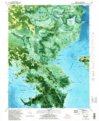 Download a high-resolution, GPS-compatible USGS topo map for Wingate, MD (1983 edition)