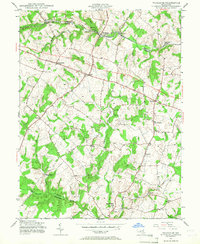 Download a high-resolution, GPS-compatible USGS topo map for Woodbine, MD (1967 edition)