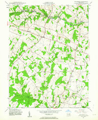 Download a high-resolution, GPS-compatible USGS topo map for Woodbine, MD (1963 edition)