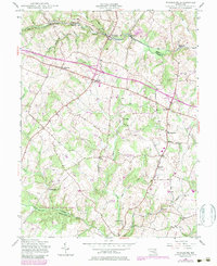 Download a high-resolution, GPS-compatible USGS topo map for Woodbine, MD (1984 edition)