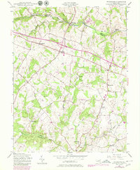 Download a high-resolution, GPS-compatible USGS topo map for Woodbine, MD (1980 edition)