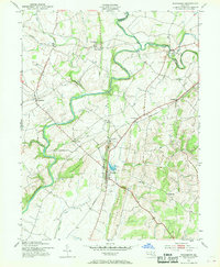 Download a high-resolution, GPS-compatible USGS topo map for Woodsboro, MD (1969 edition)