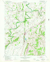 Download a high-resolution, GPS-compatible USGS topo map for Woodsboro, MD (1971 edition)