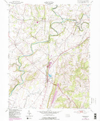 Download a high-resolution, GPS-compatible USGS topo map for Woodsboro, MD (1987 edition)