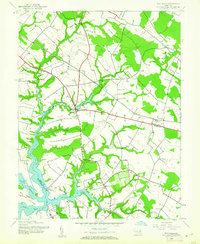 Download a high-resolution, GPS-compatible USGS topo map for Wye Mills, MD (1961 edition)