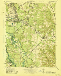 Download a high-resolution, GPS-compatible USGS topo map for Odenton, MD (1946 edition)