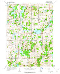 Download a high-resolution, GPS-compatible USGS topo map for Banfield, MI (1962 edition)
