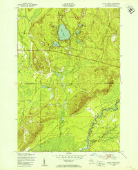 Download a high-resolution, GPS-compatible USGS topo map for Black Creek, MI (1953 edition)