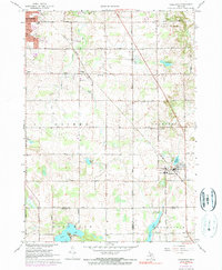 Download a high-resolution, GPS-compatible USGS topo map for Caledonia, MI (1973 edition)
