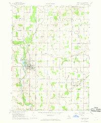 Usgs 1 24000 Scale Quadrangle For Carson City Mi 1967 Data Gov