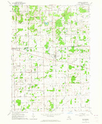 Download a high-resolution, GPS-compatible USGS topo map for Clifford, MI (1964 edition)