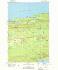 Download a high-resolution, GPS-compatible USGS topo map for Delaware, MI (1970 edition)