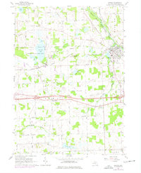 Download a high-resolution, GPS-compatible USGS topo map for Dexter, MI (1977 edition)