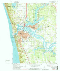 Download a high-resolution, GPS-compatible USGS topo map for Grand Haven, MI (1989 edition)